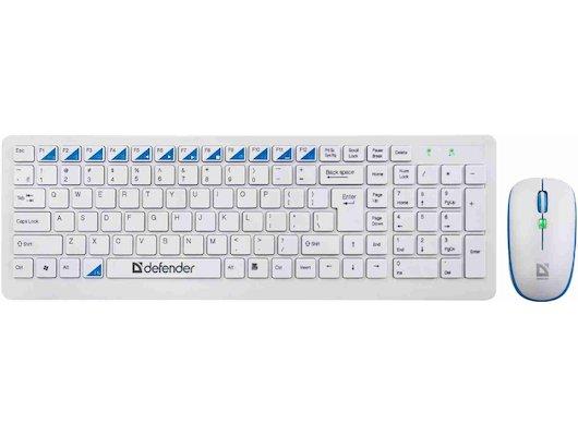 Клавиатура + мышь Defender Skyline 895 Nano W
