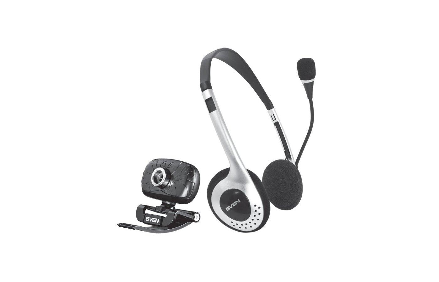 Веб-камера SVEN ICH-3500 Набор веб-камера + гарнитура