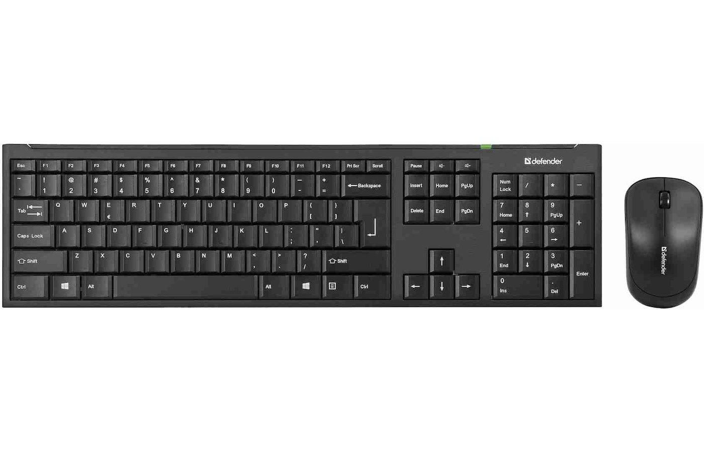 Клавиатура + мышь Defender Stanford C-955 RU черный