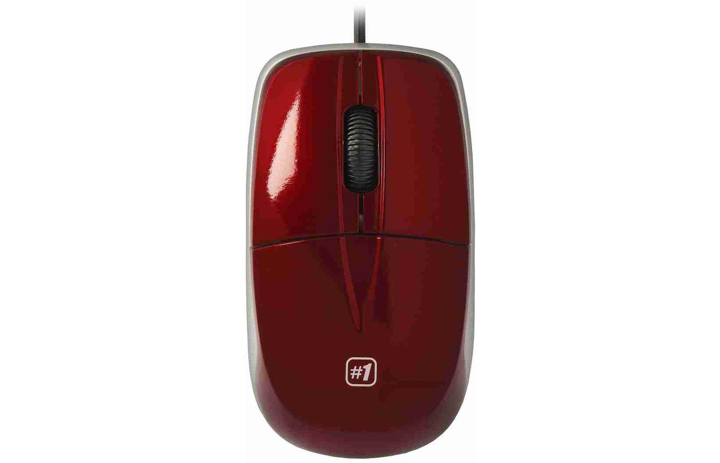Мышь проводная Defender MS-940 красный