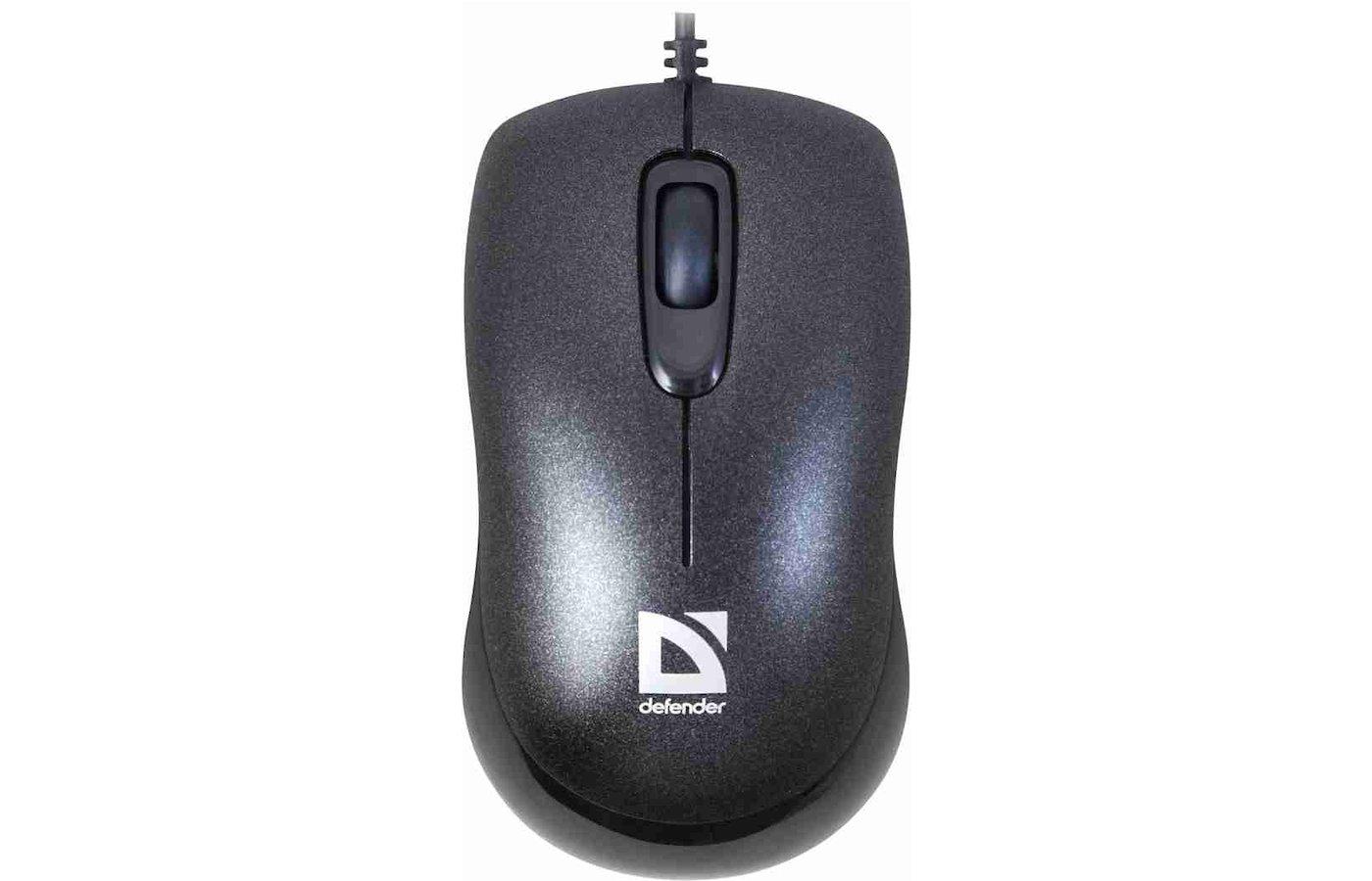 Мышь проводная Defender Orion MM-300 черный