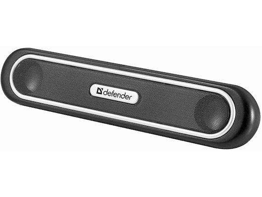 Компьютерные колонки Defender NoteSpeaker- S5 USB 5 Вт, крепление на ноутбук