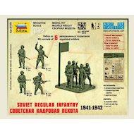 Фото Конструктор ЗВЕЗДА 6179 Советская кадровая пехота 1941-1942