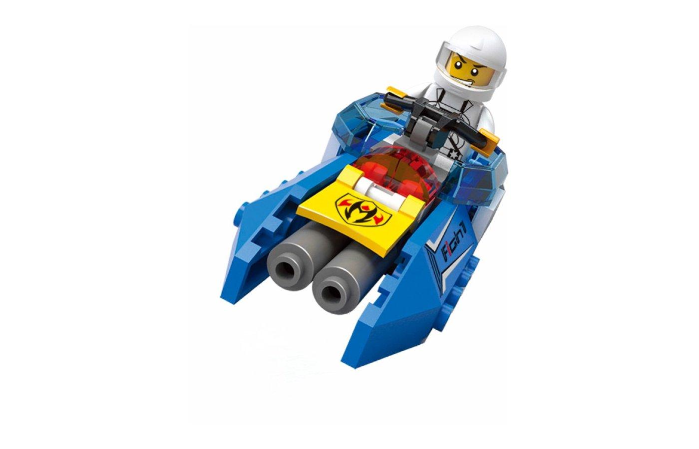 Конструктор SLUBAN M38-B0315 Патрульный катер