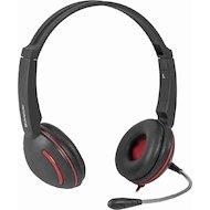 Наушники с микрофоном проводные Defender Aura 115 черный 2м