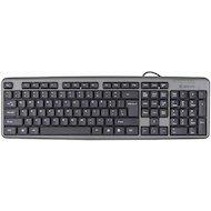Клавиатура проводная Defender Element HB-520 PS/2 черный