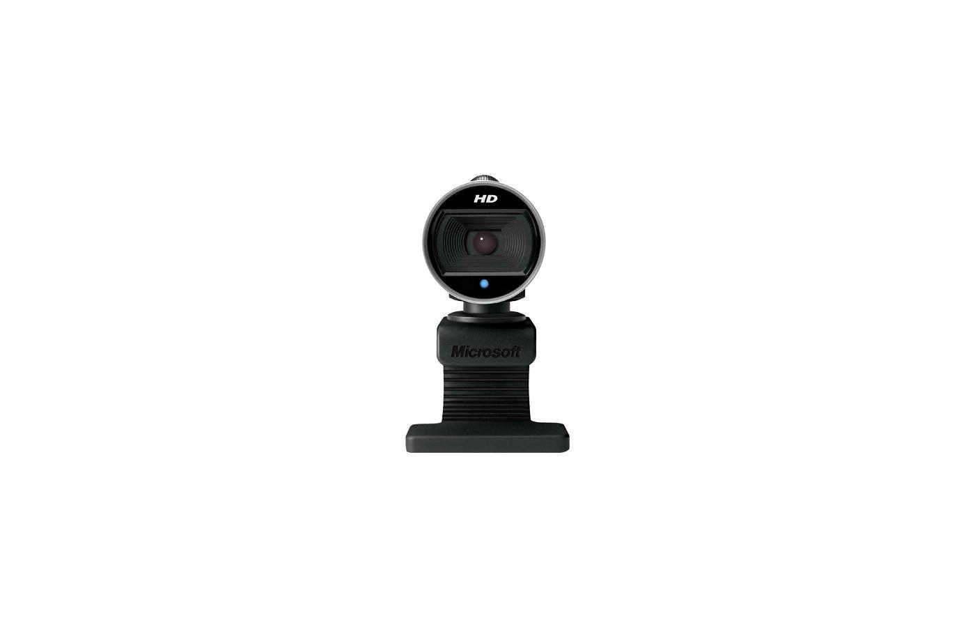 Веб-камера Microsoft LifeCam Cinema for Business OEM черный 0.9 (1280x720) USB2.0 с микрофоном