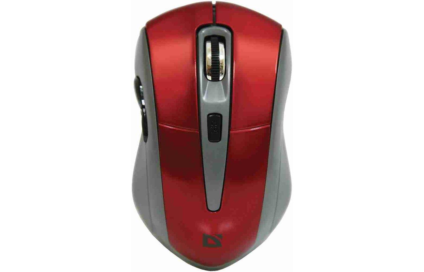 Мышь беспроводная Defender Accura MM-965 красный