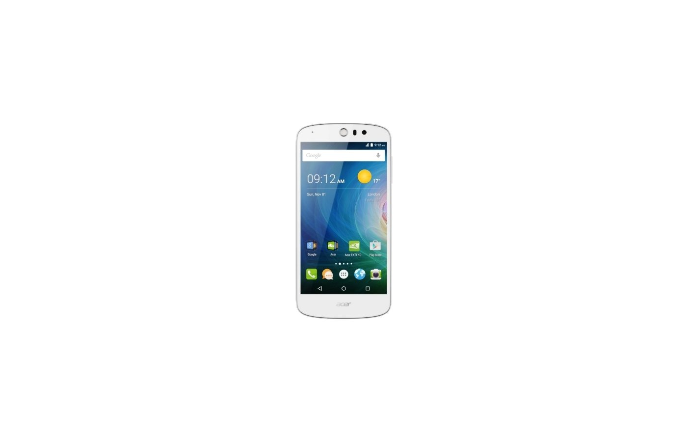 Смартфон Acer Liquid Z530 16Gb white