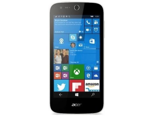 Смартфон Acer Liquid M330 8Gb white