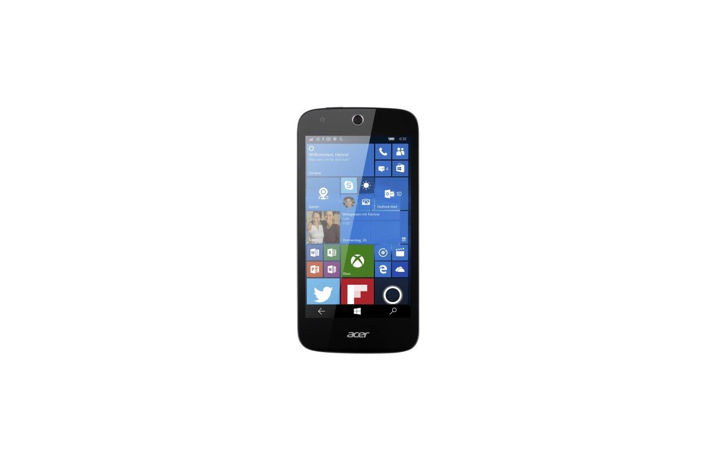 Смартфон Acer Liquid M330 8Gb black