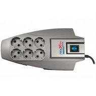 Фото Сетевой фильтр Pilot X-Pro 6роз./5м. серый