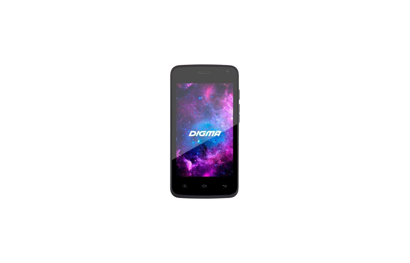 Смартфон Digma A400 3G Linx 4Gb graphite