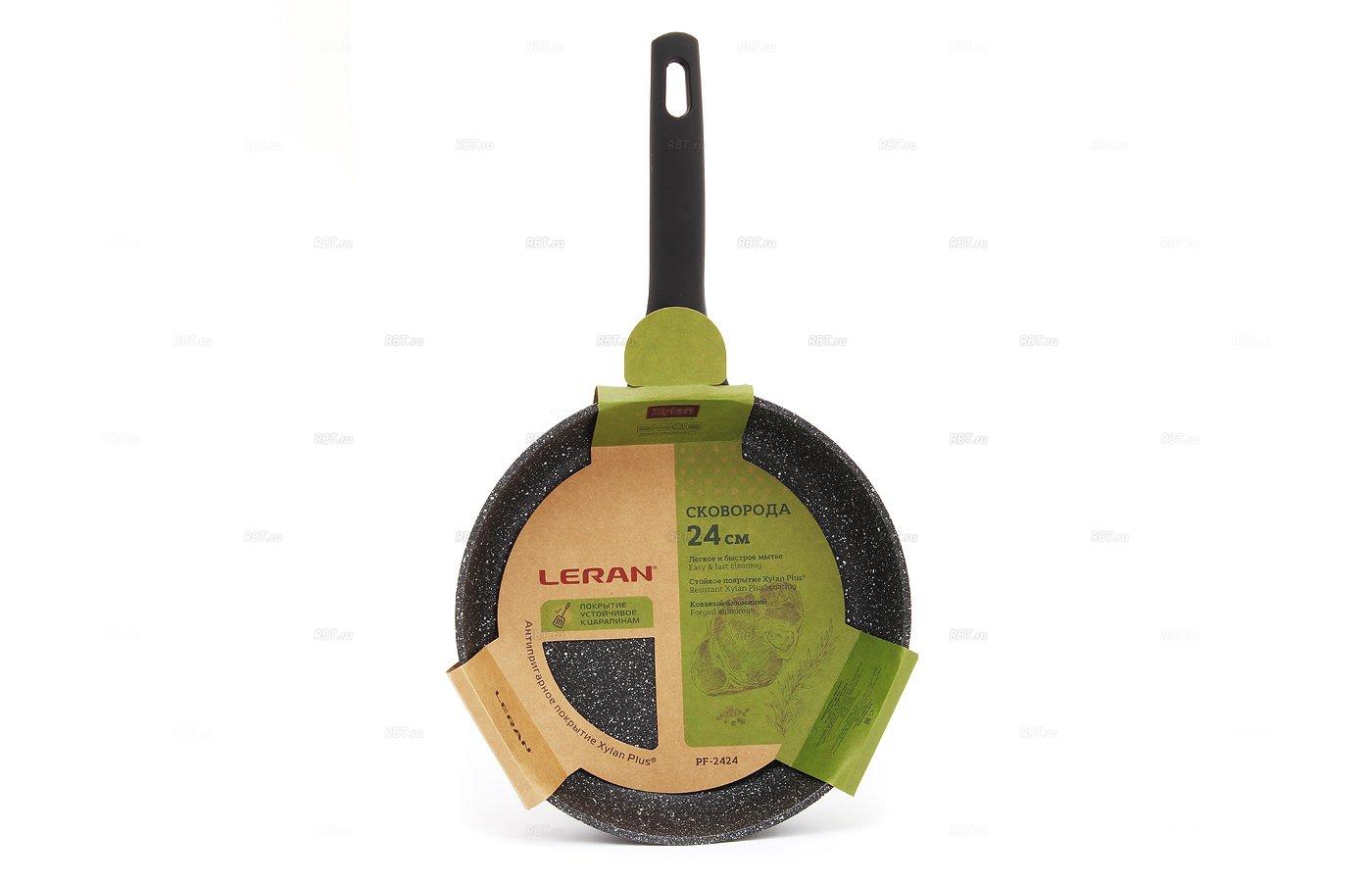 Сковорода LERAN PF-2424 а/п Granit Xylan Plus ind 24 см.