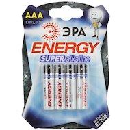 Батарейка ЭРА AAA 4шт. (LR03-4BL)