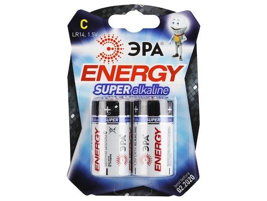 Батарейка ЭРА LR14 C 2шт. (LR14-2BL)
