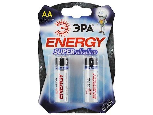 Батарейка ЭРА AA 2шт. (LR6-2BL)