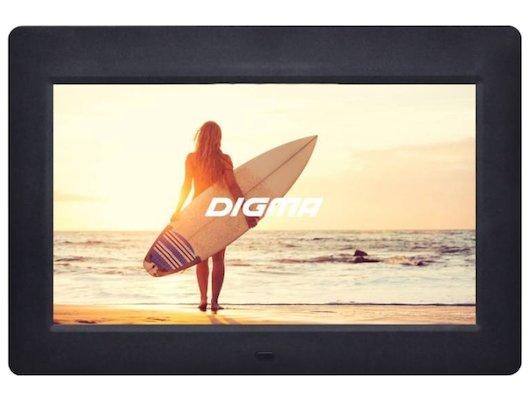 Цифровая фоторамка Digma 10.1 PF-1033 1024x600 черный пластик ПДУ Видео
