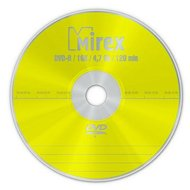 Фото DVD-диск DVD-R Mirex 4.7 Гб 16x Cake box 10 (UL130003A1L)