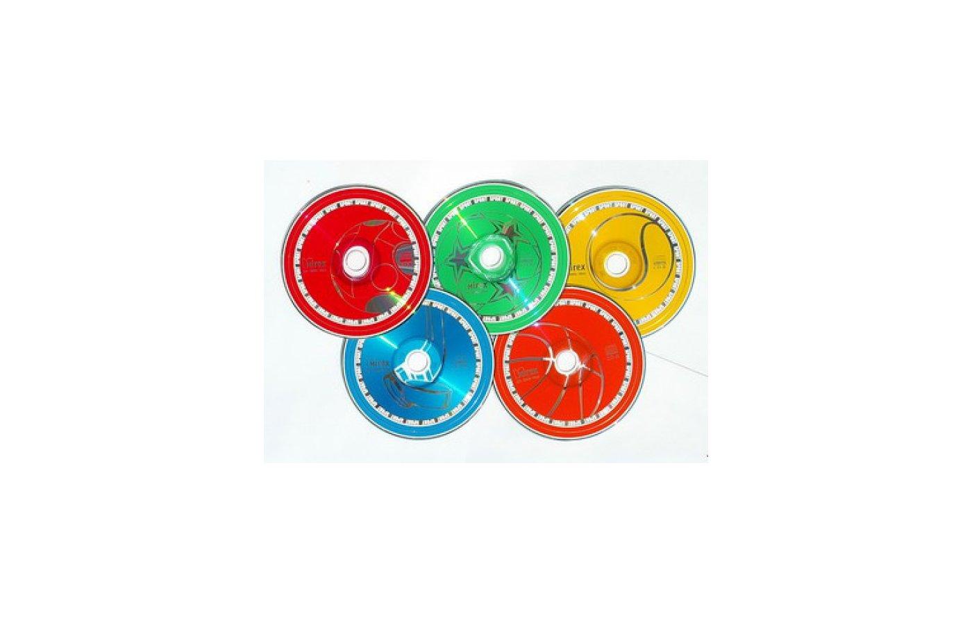 CD-диск CD-R Mirex SPORT 700 Мб 52x Slim case (UL120180A8F)