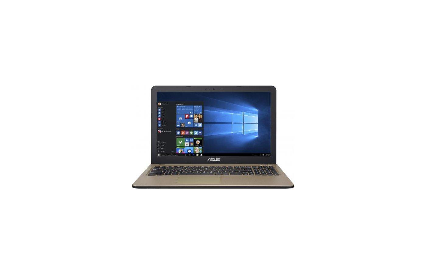 Ноутбук ASUS X540LA-XX002T /90NB0B01-M05890/ intel i3 4005U/4Gb/500Gb/DVDRW/15.6/WiFi/Win10