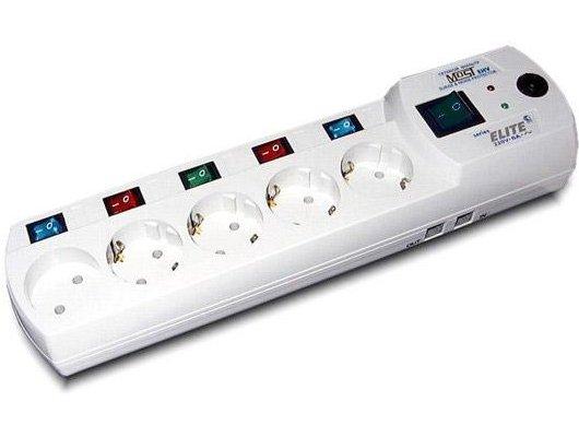 Сетевой фильтр Most Most EHV 5роз./2м. белый