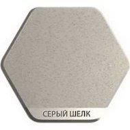 Фото Смеситель Weissgauff Alba granit R серый шелк