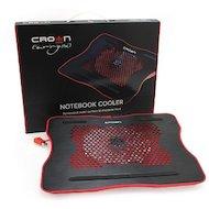 Фото Подставка для ноутбука CROWN CMLC-1001 black/red