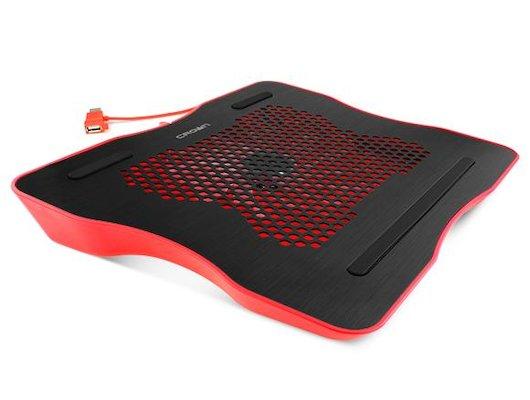 Подставка для ноутбука CROWN CMLC-1001 black/red