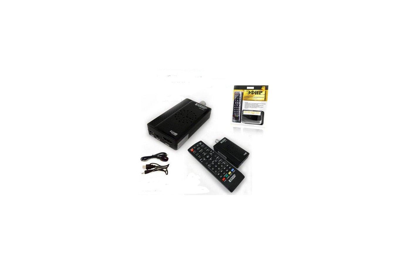 DVB-T2 ресивер Сигнал Эфир HD-501RU