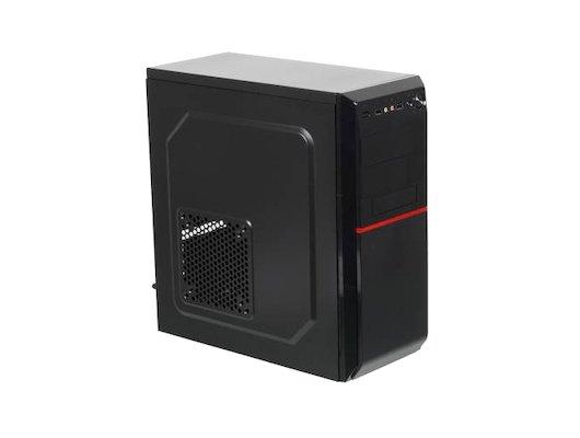Корпус LinkWorld VC-08C02 черный без БП ATX 2xUSB2.0 audio