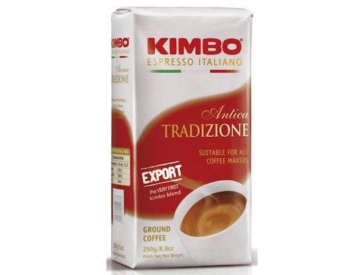 Молотый кофе KIMBO Export Antica Tradizione молотый 250гр