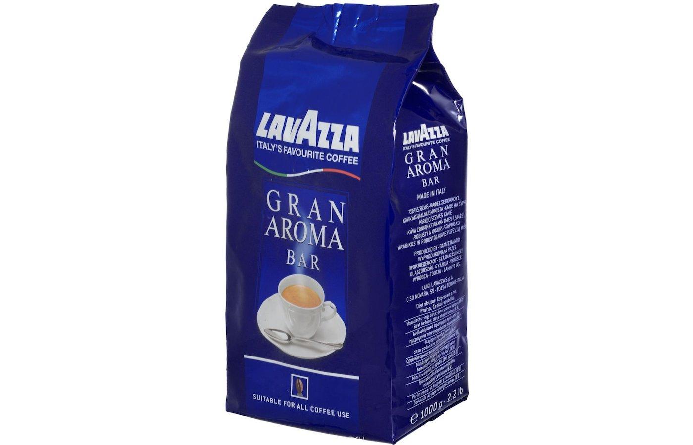 Кофе в зернах LAVAZZA Gran Aroma 1000гр