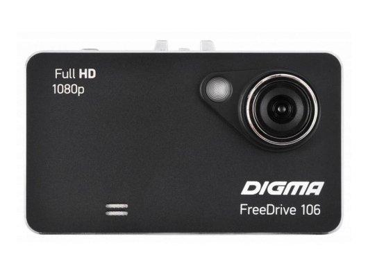 Видеорегистратор Digma FreeDrive 106 Black