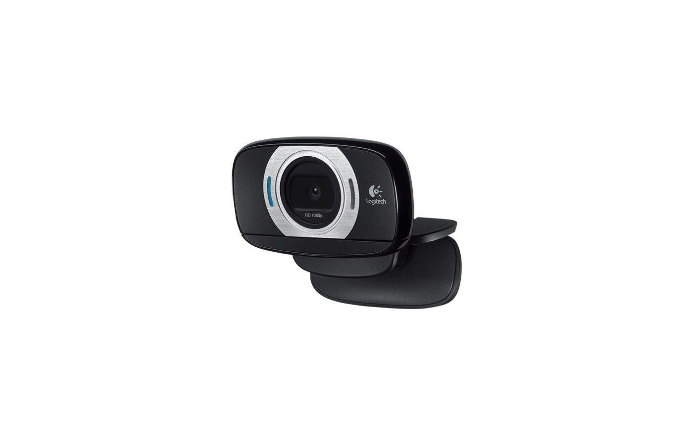 Веб-камера Logitech C615 HD черный