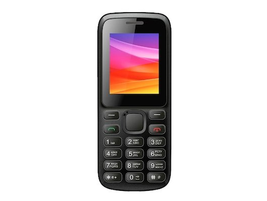 Мобильный телефон Vertex M107 черный