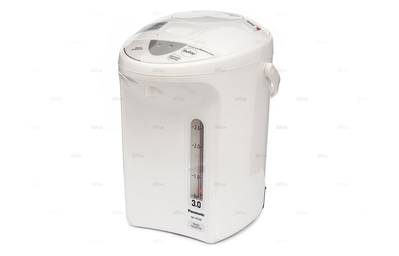 Чайник электрический  PANASONIC NC-PH30ZTW