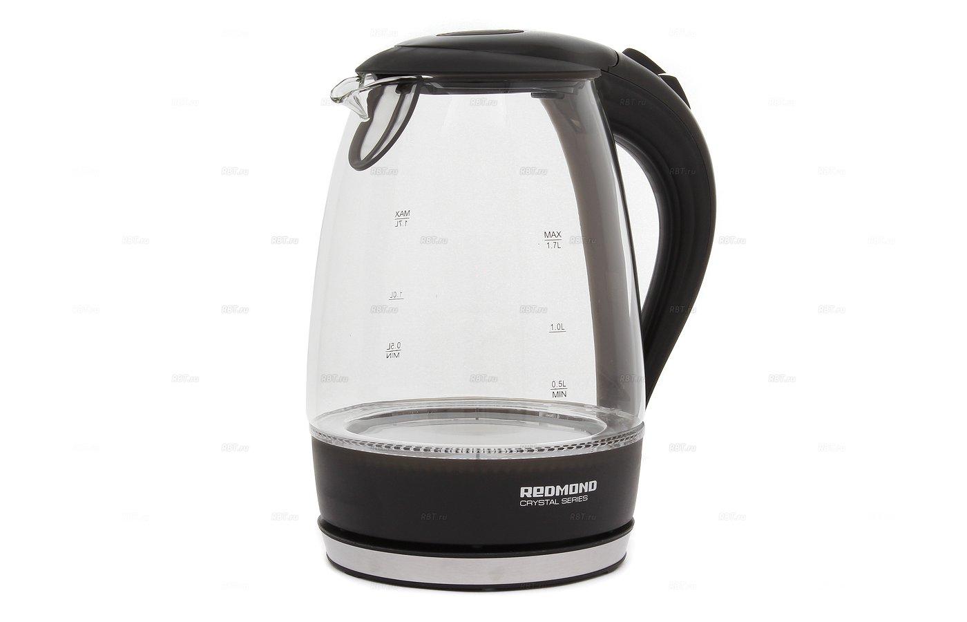 Чайник электрический REDMOND RK-G161 черный