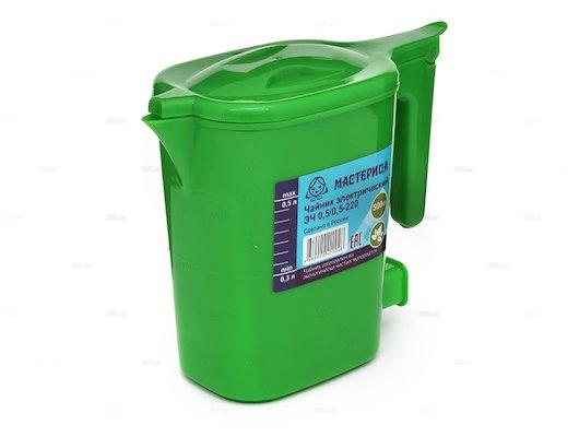 Чайник электрический  МАСТЕРИЦА ЭЧ 0,5/0,5-220 зеленый