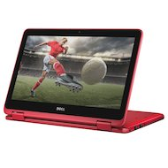 Фото Ноутбук Dell Inspiron 3168-5407 Transformer intel N3710/4Gb/500Gb/11.6/WiFI/Win10 Red
