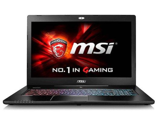 Ноутбук MSI GS72 6QE(Stealth Pro)-437RU /9S7-177514-437/