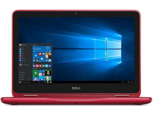 Ноутбук Dell Inspiron 3168-5407 Transformer intel N3710/4Gb/500Gb/11.6/WiFI/Win10 Red