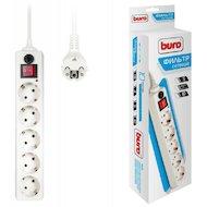 Сетевой фильтр BURO 500SH-3-W 5роз./3м. белый
