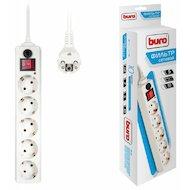 Сетевой фильтр BURO 500SH-1.8-W 5роз./1.8м. белый