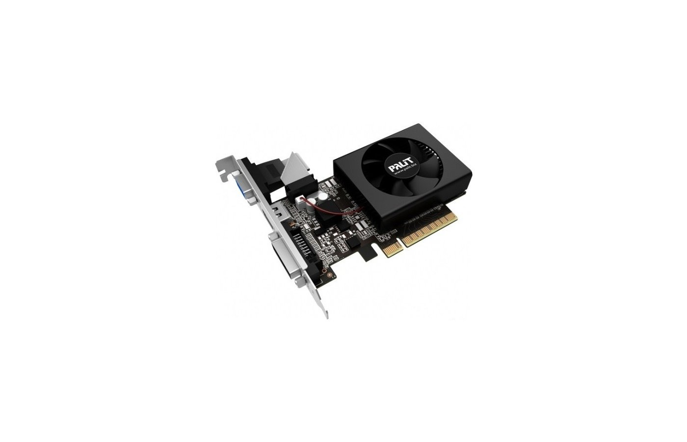 Видеокарта Palit PCI-E PA-GT730-1GD5 nVidia GeForce GT 730 1024Mb 64bit oem low profile