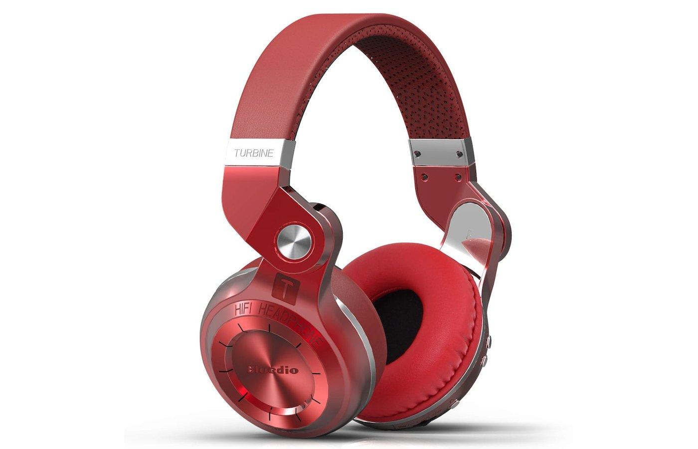 Гарнитуры Bluedio T2+ (FM+SD) красные