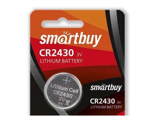 Батарейка Smartbuy CR2430 1шт. (SBBL-2430-5B)
