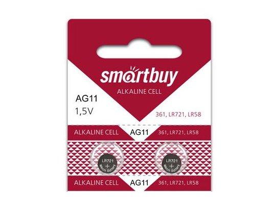 Батарейка Smartbuy AG11-10B 2шт. (SBBB-AG11-10B)