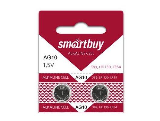 Батарейка Smartbuy AG10-10B 2шт. (SBBB-AG10-10B)