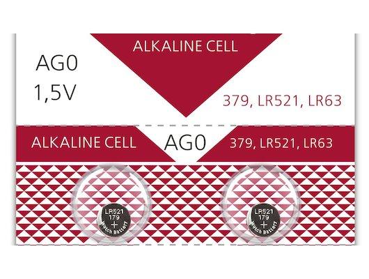 Батарейка Smartbuy AG0-10B 2шт. (SBBB-AG0-10B)